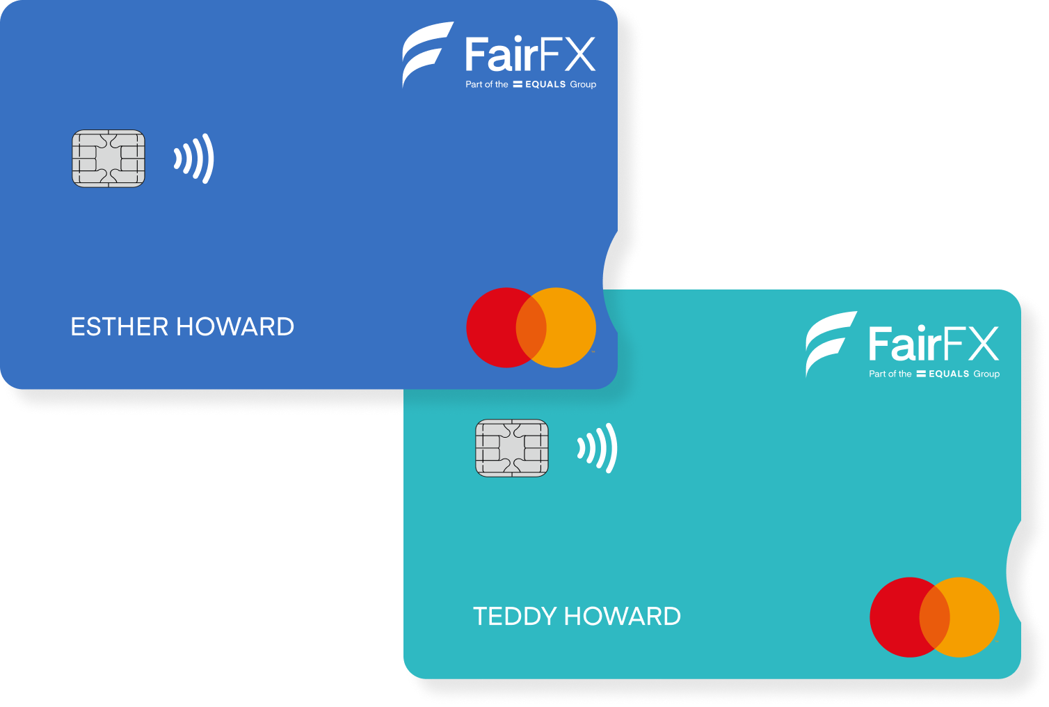 FairFX Currency Card and linked card