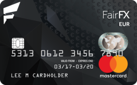 Fairfx Currency Cards Ready For Action Wherever You Are In The World
