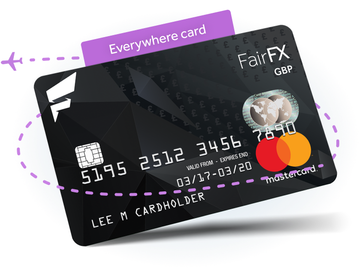 A prepaid card that's fee-free when you spend in the UK and automatically converts your Pounds to the local currency abroad. Now, the world really is your ...